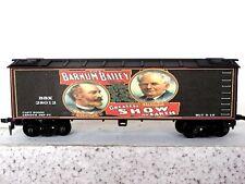 HO Custom Lettered BARNUM & BAILEY CIRCUS Freight car Reefer Lot E