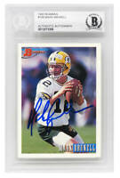 Mark Brunell Signed Green Bay Packers 1993 Bowman Rookie Card - BECKETT