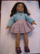 "VINTAGE AMERICAN GIRL DOLL - SERIAL # 2859SJ - BLUE EYES - 19"" LONG"