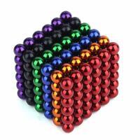 Nuevo Bolas Magneticas 216PCS 3/5MM Bolas De Neodimio multicolores magnesis