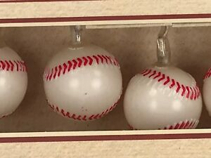 Baseball Sports Decorations, Baseball String Lights, $15 MSRP 🌲🎈🍾