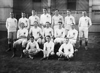 OLD LARGE PHOTO RUGBY UNION TEAM, the 1908 England team