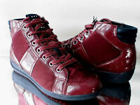 Damen GEOX respira High-Top Sneaker D Myria + velvet C7005 bordeaux Gr:36-41 Neu