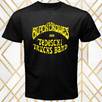 The Black Crowes And Tedeschi Trucks Band Men's Black T-Shirt Size S - 3XL