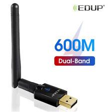 EDUP 600Mbps WiFi Adapter 802.11ac 2.4G/5.8G Wi-Fi Card Ethernet for Desktop PC