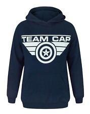 Captain America Civil War Team Cap Women's Hoodie