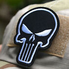Punisher Skull Moral Embroidery Patch Tactical Armband Military Badge 3C