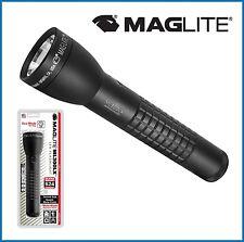 Maglite ML300LX LED Torch Flashlight 3rd Gen 524 Lumens Black 2-Cell D S2CC6