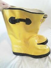 Boss Slush Boots Rubber Size 10 Over the Shoe Knee Boots