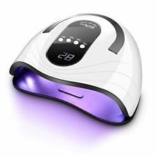 UV LED Nail Lamp - 2020 Upgraded 120 Watt Faster Nail Dryer for Gel