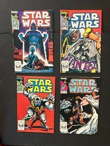 Star Wars 77,78,79,80 Bronze Age NM 9.4 Marvel Comics (1983) Hoth/Big Con
