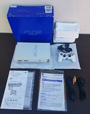 PlayStation 2 European Automobile  SNOW WHITE MINT SERIAL #233/666 RARE CIB PS2