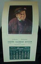1952 Esquire Calendar Division Salesman Sample Calendar The Cynic F. X. Wolfle