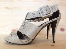 PIERRE HARDY WATER SNAKE PATTERN ROCCIA LEATHER PUMP ITALY MSRP 1120 SIZE 36
