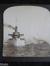 STA232 Battleship Virginia Bristling navire vintage Photo 1900 STEREO stereoview