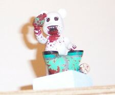 'Dunny caught in Avalanche is mauled by a PolarBe@r' Custom Dunny/Be@rbrick art