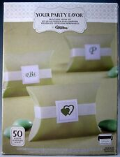 Wedding Party Favor Box Kits Birthday Baby Shower Lime Green Envelopes