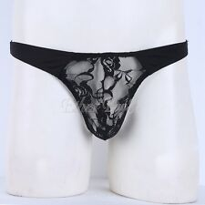 Sissy panties Men Underwear jockstrap lace boys thong underwear Crossdress brief