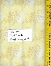 "TVW 700, 108"" EXTRA WIDE QUILT BACKING, TONAL VINEYARD, 47603, 100% COTTON, BTY"