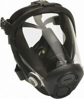 North by Honeywell Full Facepiece Respirator Med Black