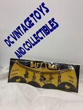 VINTAGE 1966 BATMAN Metal Charm Bracelet - NEW ON CARD! - National Periodical
