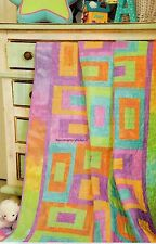 Jelly Beans Quilt Pattern Pieced MS