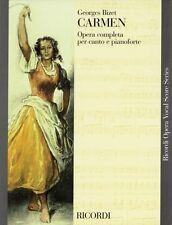 Carmen Vocal Score Book NEW 050486269