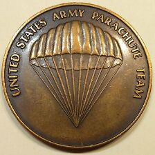 Golden Knights US Army Parachute Team Army Challenge Coin Vintage!