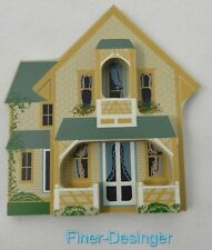 Shelia's Collectibles Wood Wooden Houses 1993 Campground Cottage Oak Bluffs Vtg