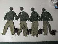 Dragon 4 WWII German Mountain Trooper Uniforms  1:6 Loose
