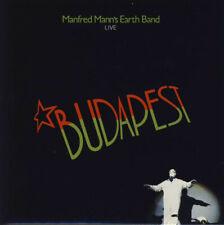 MANFRED MANN'S EARTH BAND, BUDAPEST (LIVE), LTD ED CD, JAPAN 2005, AIRAC-1134