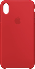 iPhone XS Max Silicone Case Rot