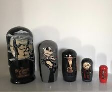 Christmas gift for him her Russian doll new year Nightmare before Christmas