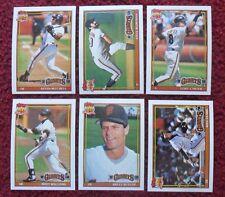 1991 Topps San Francisco Giants Baseball Team Set (29 Cards) ~ Will Clark CARTER