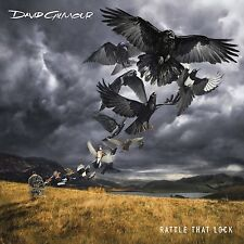 DAVID GILMOUR RATTLE THAT LOCK HARDBOUND BOOK CD 22 page photo/lyric book NEW