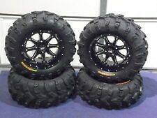 "KAWASAKI BRUTE FORCE 750i 26"" BEAR CLAW EVO 14"" HD4 ATV TIRE & WHEEL KIT IRS1CA"