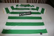CAMISETA OFICIAL MATCH WORN CELTIC GLASGOW NIKE T/XXL Nº 6 BALDE CARLING  SHIRT