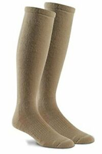 Fox River Military Wick Dry Maximum Mid Calf Boot Sock (Medium, Sand)