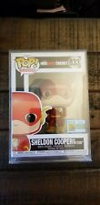 Funko The Big Bang Theory Sheldon Cooper as Flash #833 SDCC19 OFFICIAL STICKER