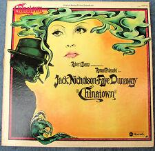 CHINATOWN Original Sound Track ABC LP ABDP-848 Jerry Goldsmith