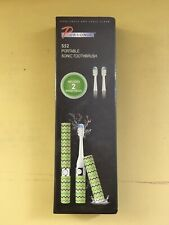 New PURSONIC S52 Portable Powered Sonic Electric Toothbrush Green Design