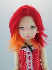 Monique JUNIOR Wig Fire Size 8-9 MSD BJD shown on Essie by Kaye Wiggs