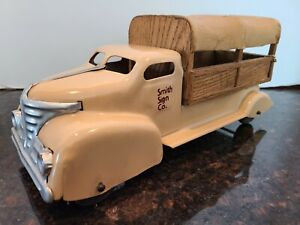 Vintage Wyandotte Or Marx Pressed Steel Truck