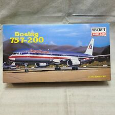 Minicraft Model Boeing 757-200 American Airlines 1/144 Scale Plastic Kit SEALED