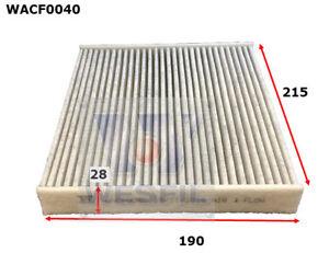 WESFIL CABIN FILTER FOR Lexus RX450H 3.5L V6 2009-on WACF0040