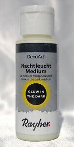 (9,49 €/100 ml) Nachtleucht-Medium 59ml, Phosphor-Farbe, nachleuchtend