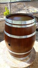 Decorative Oak Wine Barrel - FREE SHIPPING