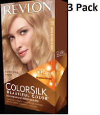 3X Revlon Colorsilk sin Amoníaco Color Permanente Cabello (75 Cálido