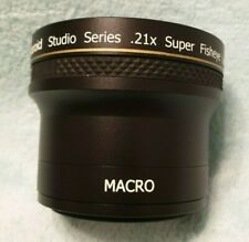 Polaroid .21 Super Fisheye with Macro lens Excellent Condition