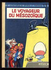 SPIROU et FANTASIO n°13  Le Voyageur du Mésozoïque  FRANQUIN  DUPUIS  EO 1960